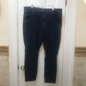 Plus Size Gap Legging Skimmer Jeans.